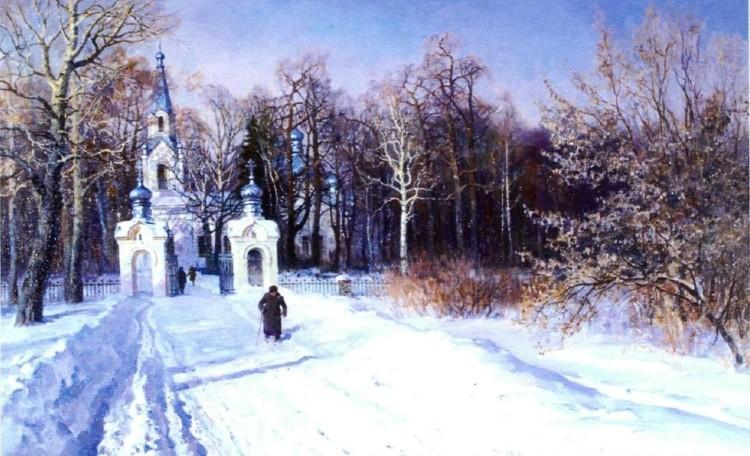 художник Олег Бороздин картины – 22