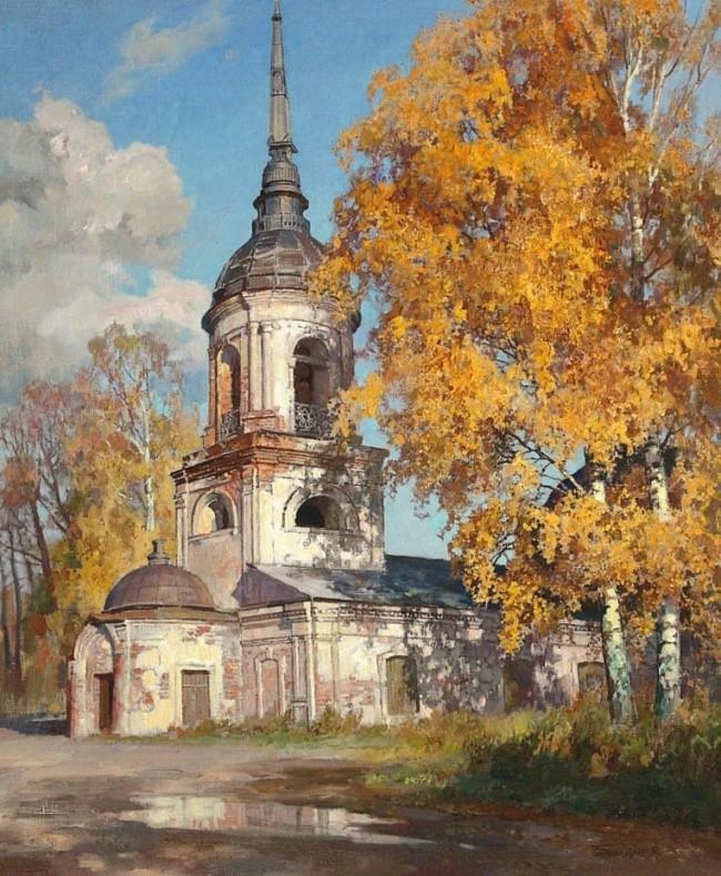 художник Олег Бороздин картины – 28
