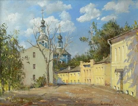 художник Олег Леонов картины – 11