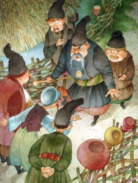 художник Ольга Ионайтис иллюстрации – 27