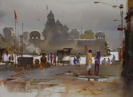 художник Прафул Савант (Prafull Sawant) картины – 03