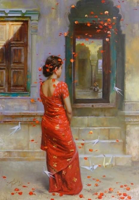 художник Прафул Савант (Prafull Sawant) картины – 04