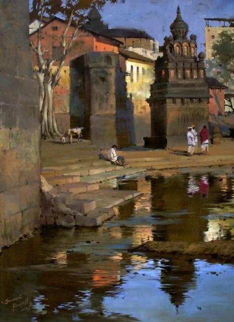 художник Прафул Савант (Prafull Sawant) картины – 05