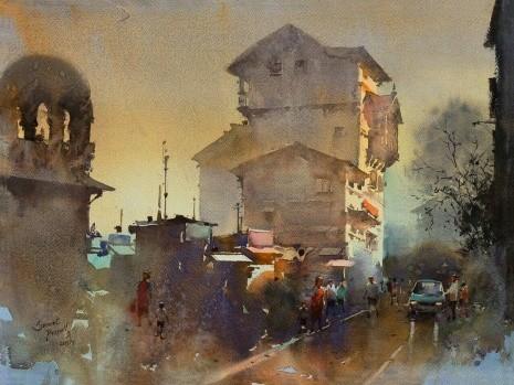 художник Прафул Савант (Prafull Sawant) картины – 07