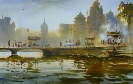 художник Прафул Савант (Prafull Sawant) картины – 10