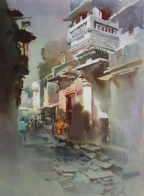 художник Прафул Савант (Prafull Sawant) картины – 12