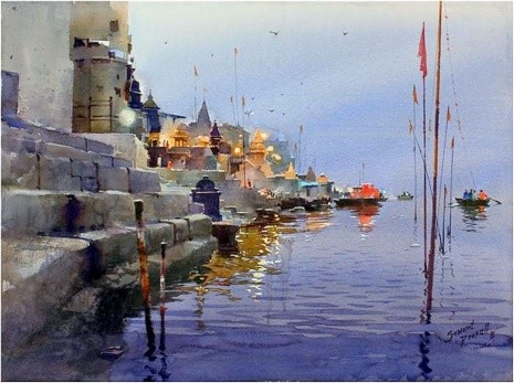 художник Прафул Савант (Prafull Sawant) картины – 16