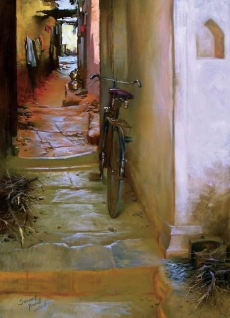 художник Прафул Савант (Prafull Sawant) картины – 17
