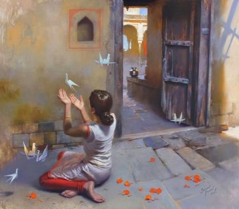 художник Прафул Савант (Prafull Sawant) картины – 23