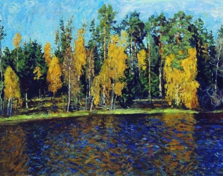 художник Станислав Жуковский картины – 13
