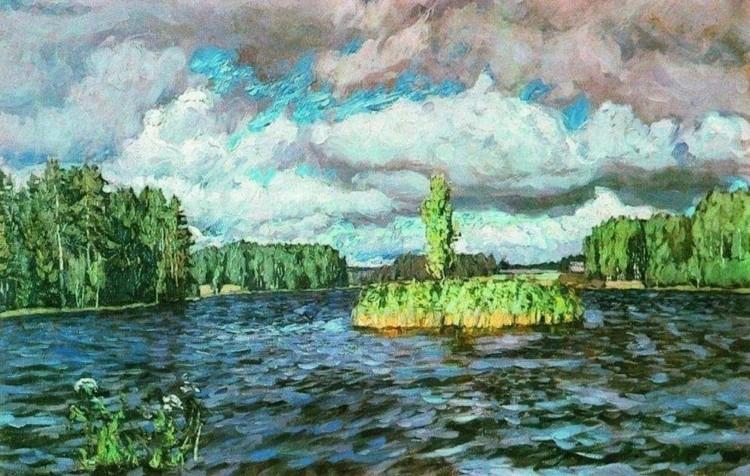 художник Станислав Жуковский картины – 15