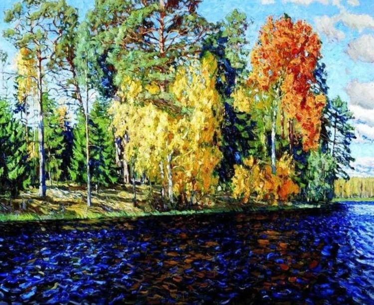 художник Станислав Жуковский картины – 17