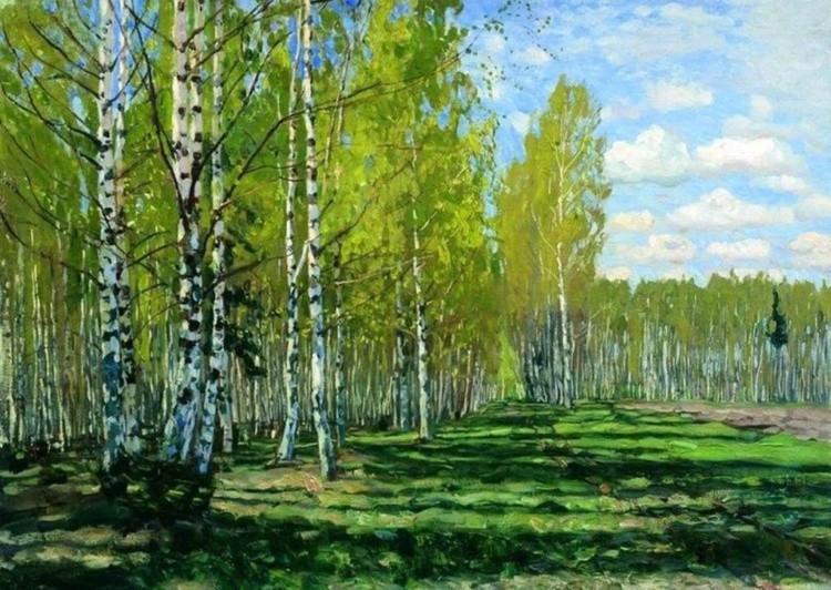 художник Станислав Жуковский картины – 19