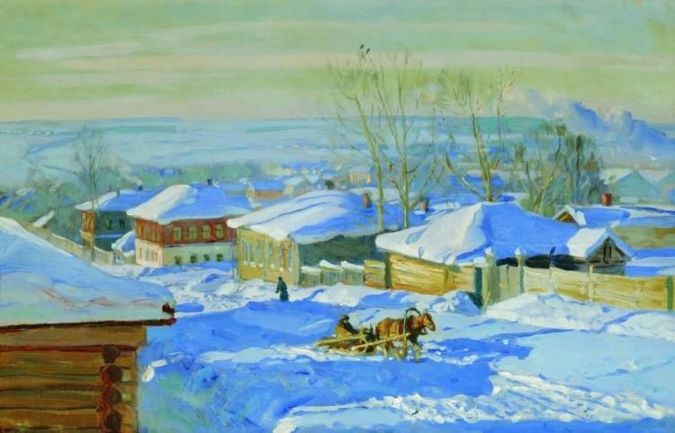 художник Станислав Жуковский картины – 21