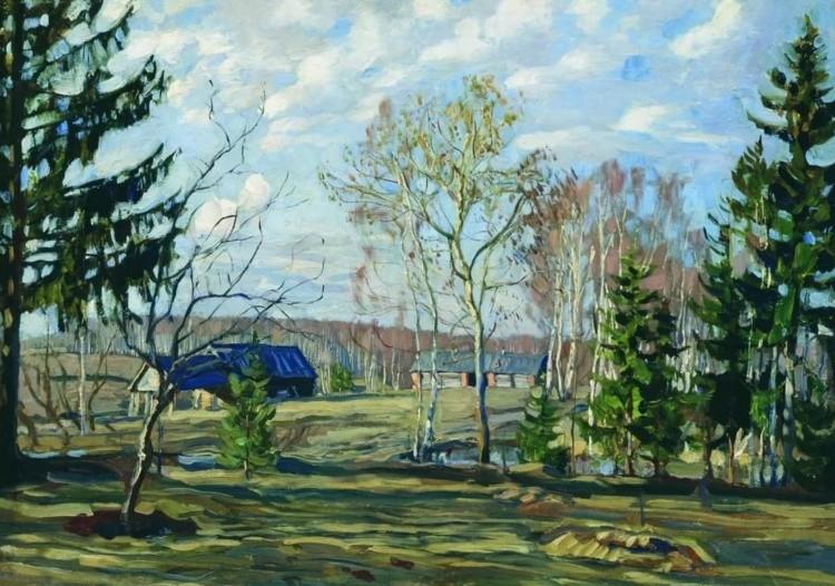 художник Станислав Жуковский картины – 23