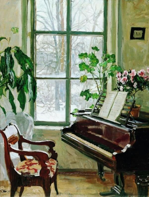 художник Станислав Жуковский картины – 31