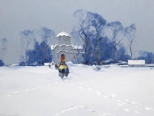 художник Степан Колесников картины – 10