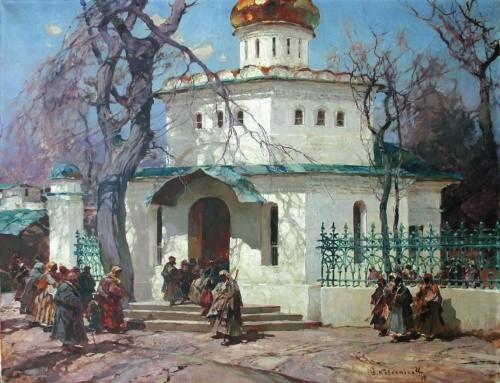 художник Степан Колесников картины – 31