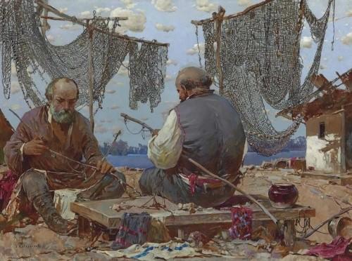 художник Степан Колесников картины – 34