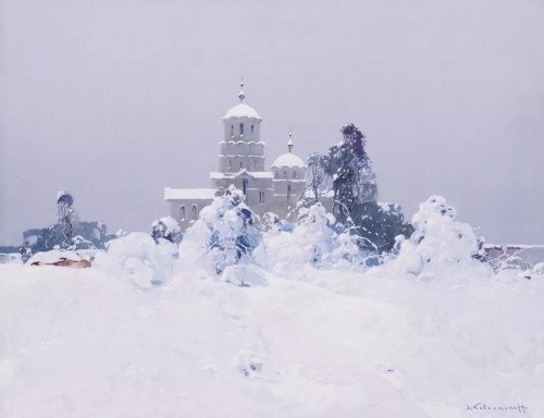 художник Степан Колесников картины – 37