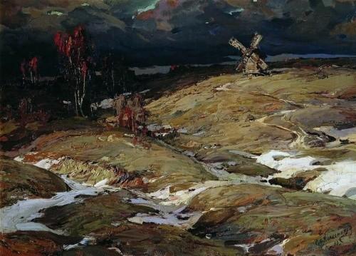 художник Степан Колесников картины – 43