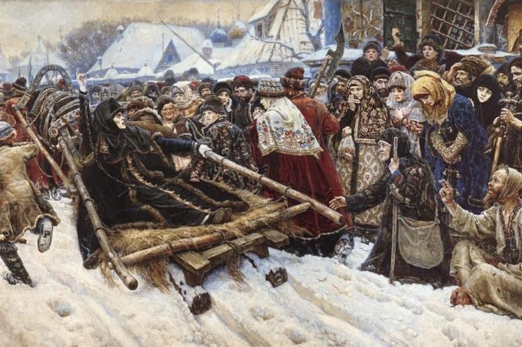 художник Василий Суриков картины – 04