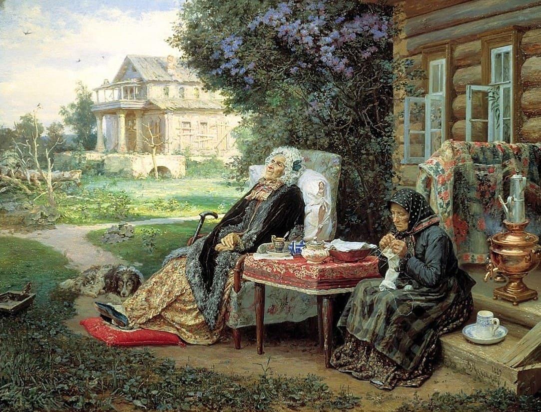 Художник Василий Максимов (1844 — 1911). Я пришёл навсегда к деревенской жизни