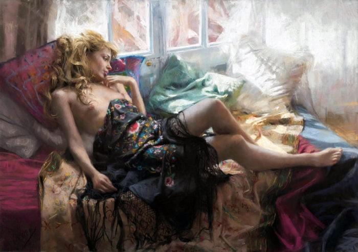 художник Висенте Ромеро Редондо (Vicente Romero Redondo) – 38
