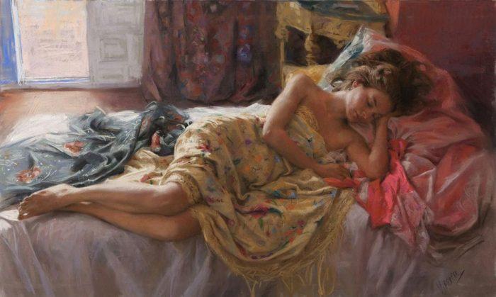 художник Висенте Ромеро Редондо (Vicente Romero Redondo) – 44