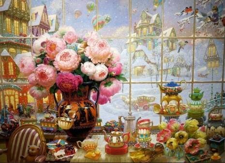 художник Виктор Низовцев (Victor Nizovtsev) картины – 06