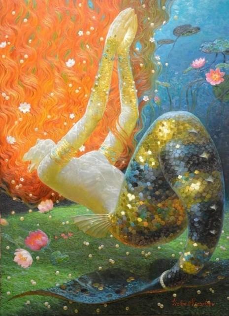 художник Виктор Низовцев (Victor Nizovtsev) картины – 19