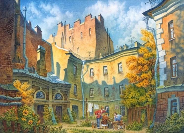 художник Владимир Колбасов картины – 16