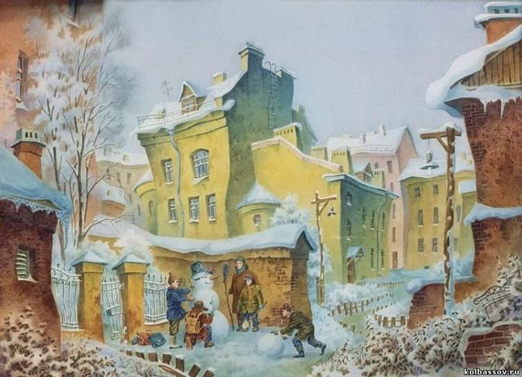 художник Владимир Колбасов картины – 18