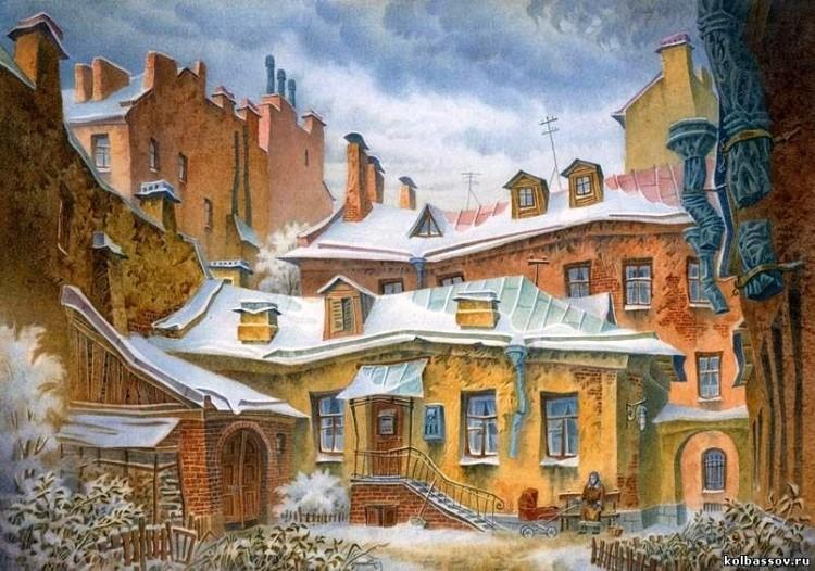 художник Владимир Колбасов картины – 21