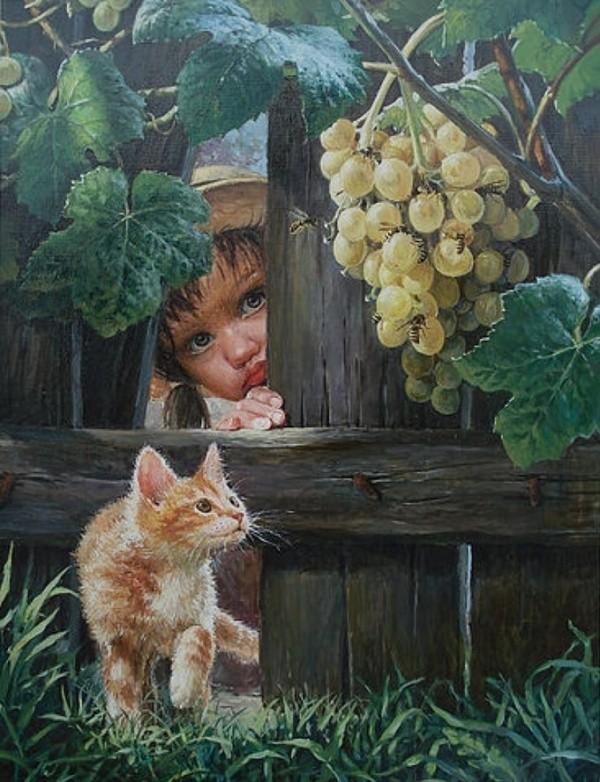 художник Владислав Леонович картины – 24
