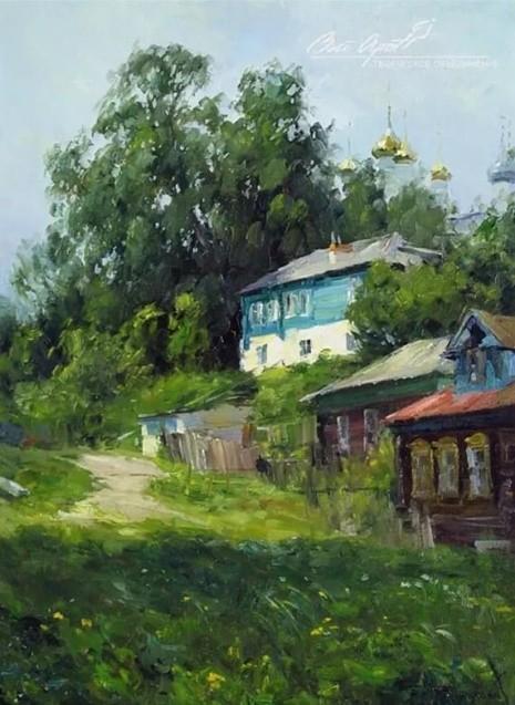 художник Вячеслав Плотников картины – 07