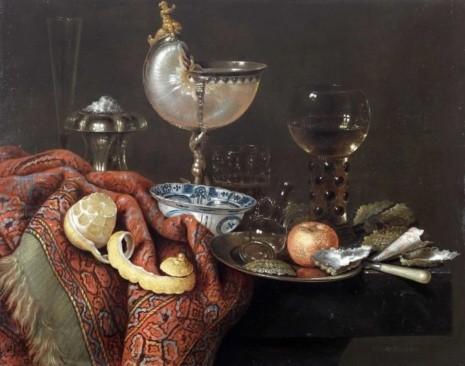художник Виллем Клас Хеда (Willem Claesz Heda) картины – 05