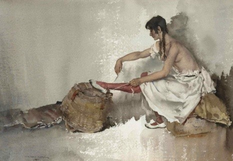 художник Уильям Рассел Флинт (William Russell Flint_ картины – 11
