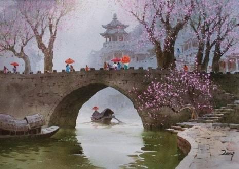художник Сян Минь Цзэн (Xiang Ming Zeng) картины – 01