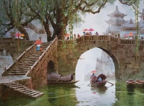 художник Сян Минь Цзэн (Xiang Ming Zeng) картины – 03