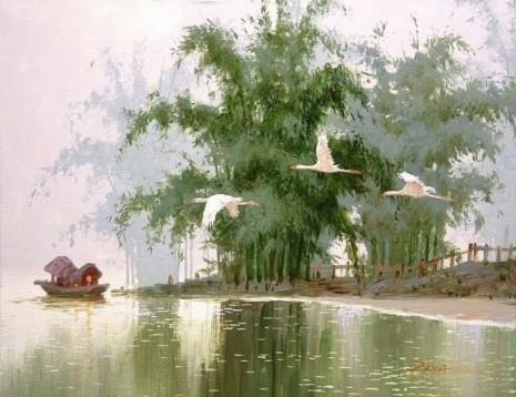 художник Сян Минь Цзэн (Xiang Ming Zeng) картины – 04