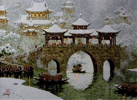 художник Сян Минь Цзэн (Xiang Ming Zeng) картины – 05