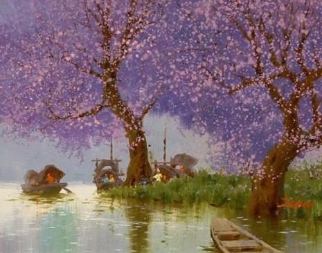 художник Сян Минь Цзэн (Xiang Ming Zeng) картины – 06