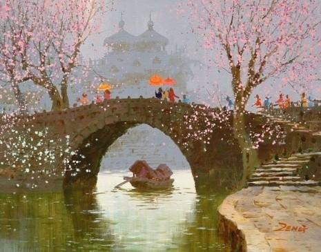 художник Сян Минь Цзэн (Xiang Ming Zeng) картины – 07