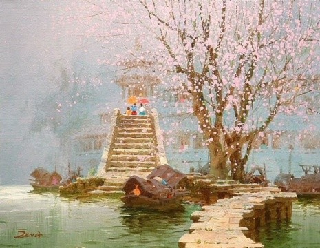 художник Сян Минь Цзэн (Xiang Ming Zeng) картины – 08