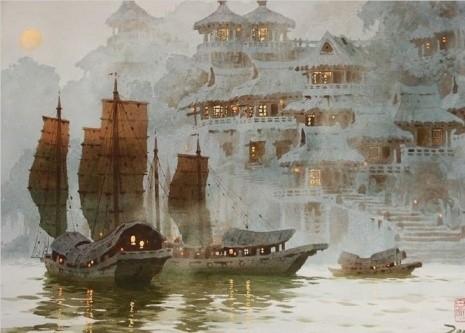 художник Сян Минь Цзэн (Xiang Ming Zeng) картины – 13