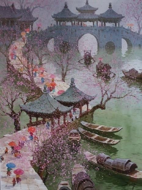 художник Сян Минь Цзэн (Xiang Ming Zeng) картины – 17