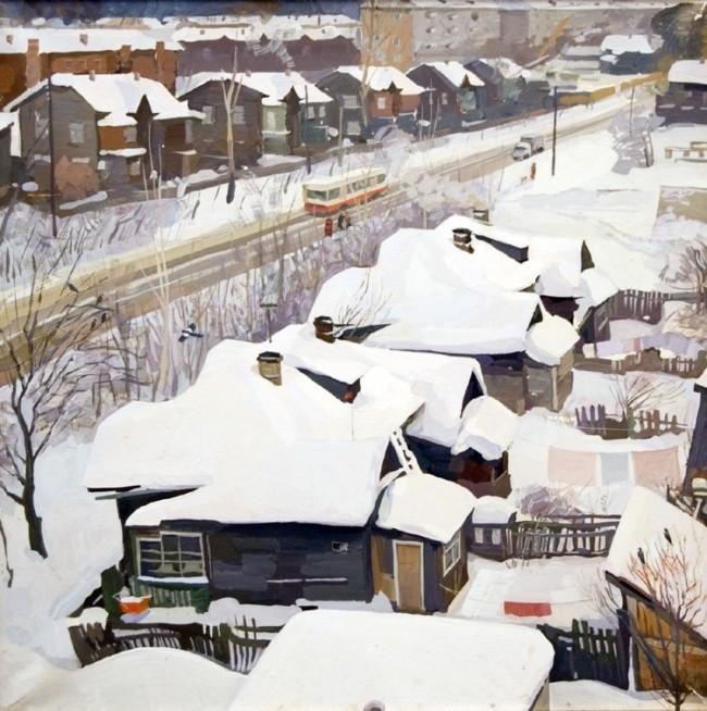 художник Юрий Кузякин картины – 19