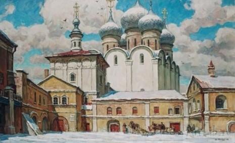 художник Юрий Пантюхин картины – 18