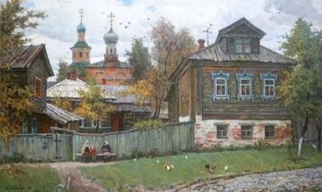 художник Юрий Пантюхин картины – 24
